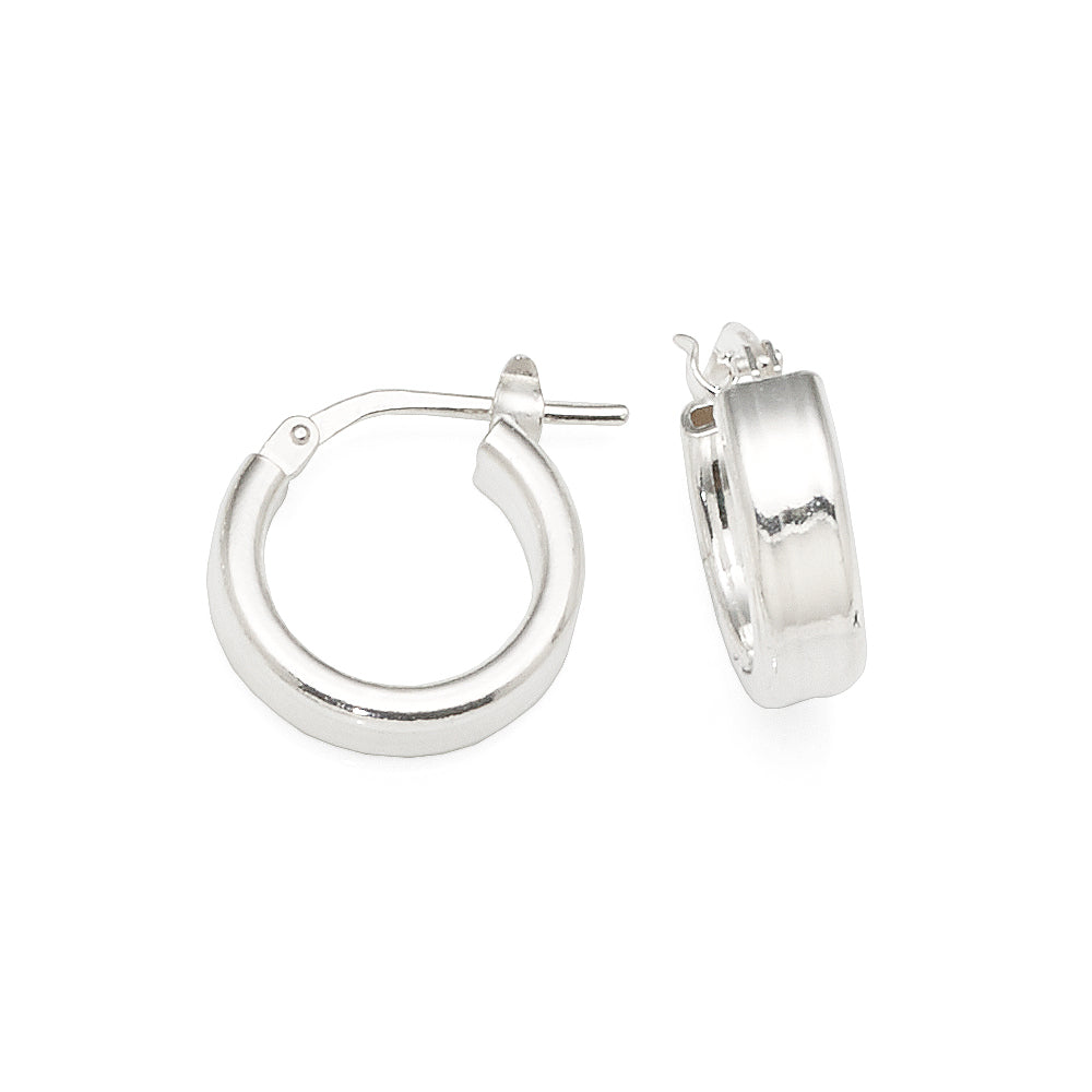 Sterling Silver 10mm Hoops