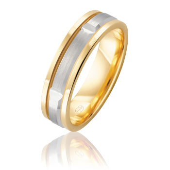 Peter W Beck Yellow & White Gold Ring 2TJ3515BB