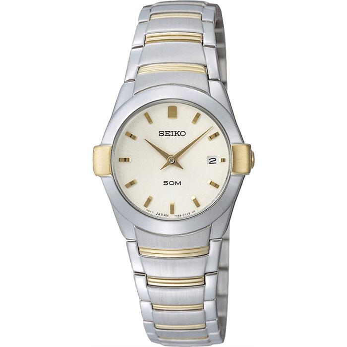 Seiko 2-Tone Dress Watch SXB386P