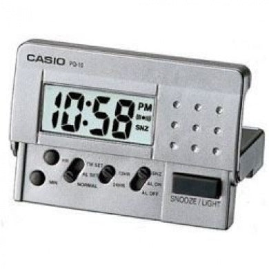 Casio Traveller's Alarm Clock PQ10D-8