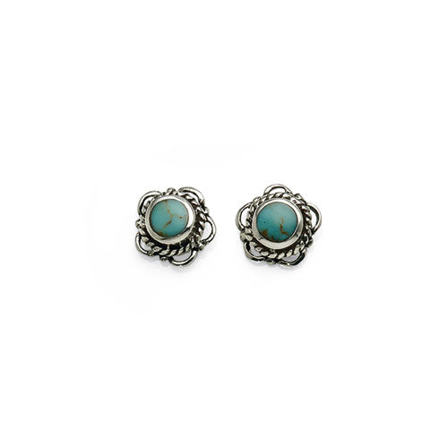 Sterling Silver Turquoise Studs