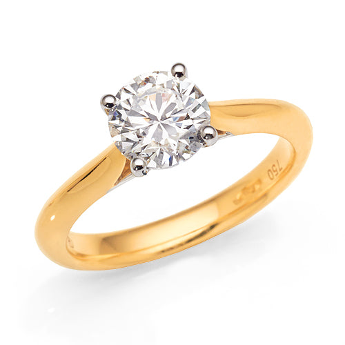 1.5ct Diamond Solitaire Ring in 18ct Gold