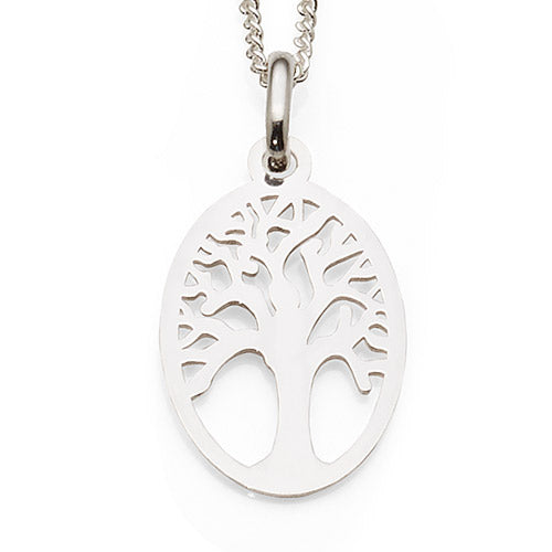 Sterling Silver Tree of Life Pendant