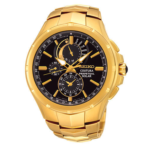 Seiko Coutura Solar Chronograph Watch SSC394P