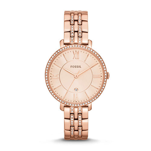 Fossil Jacqueline Rose Gold Watch ES3546