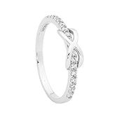 Georgini 'Infinite' Sterling Silver Ring R342