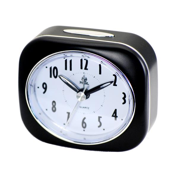 Black Bedside Alarm Clock