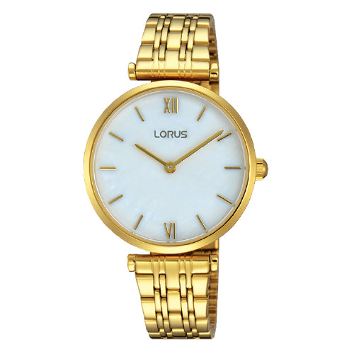 Lorus Gold-Tone Dress Watch RRQ92EX-9