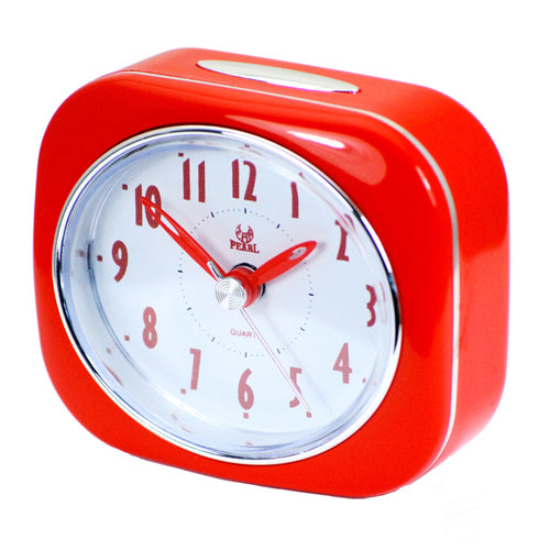 Pearl Time Red Alarm Clock PT220-RED