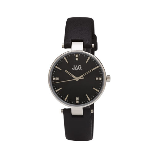JAG Piper Leather Strap Watch