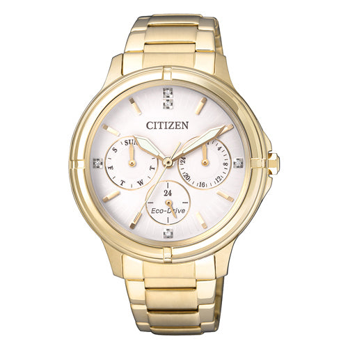 Citizen Eco-Drive Gold Watch FD2032-55A