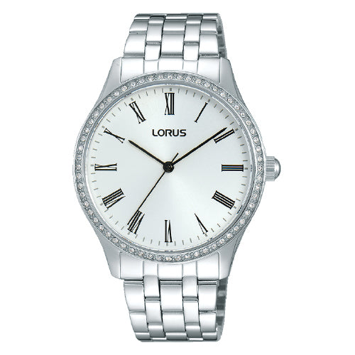 Lorus Stainless Steel Dress Watch RG247LX-9