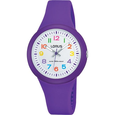 Lorus Children's Rubber Watch RRX47EX-9