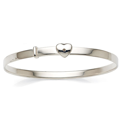 Sterling Silver Adjustable Children's Bangle