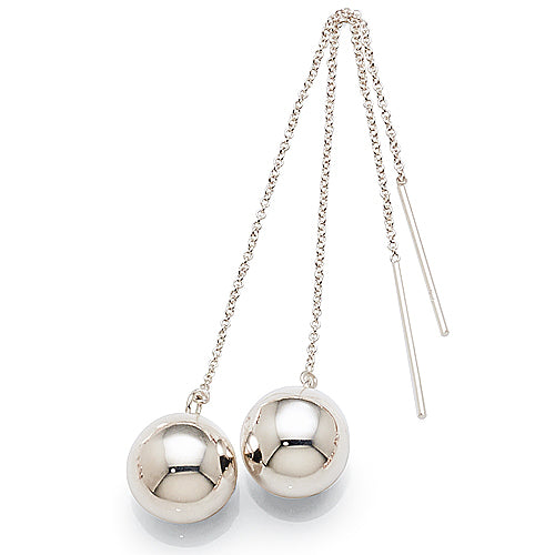 Sterling Silver Ball Threads
