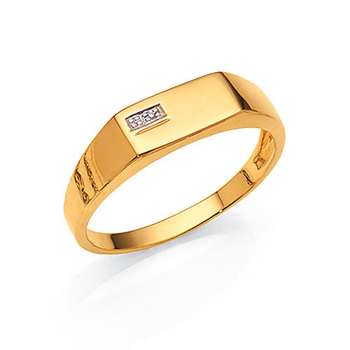 9ct Gold Gents Signet Ring