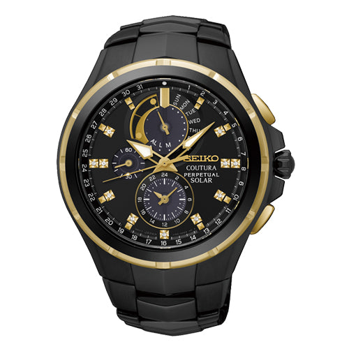 Seiko Coutura Solar Chronograph Watch SSC573P