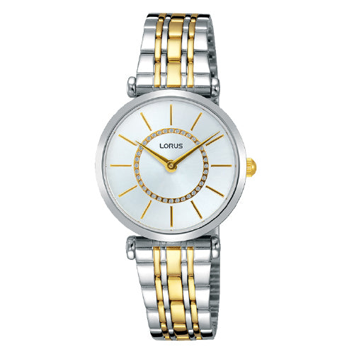 Lorus 2-tone Dress Watch RRW11FX-9