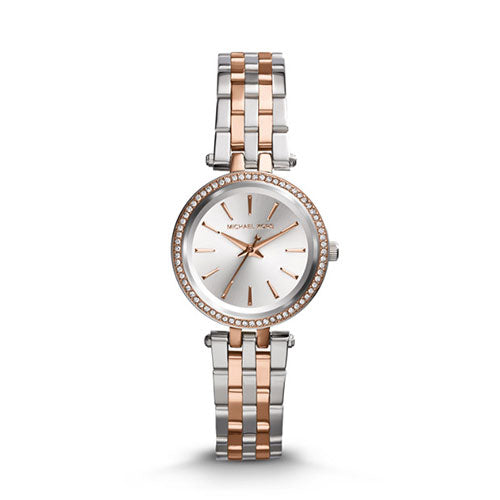 Michael Kors Petite Darci Two Tone Watch MK3298