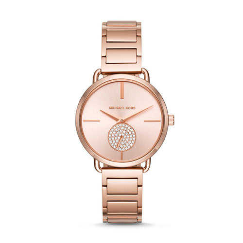 Michael Kors Portia Rose Gold Watch MK3640