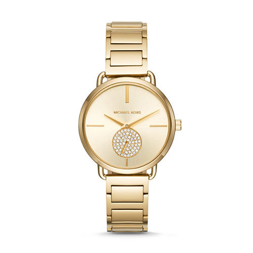 Michael Kors Portia Gold Watch MK3639