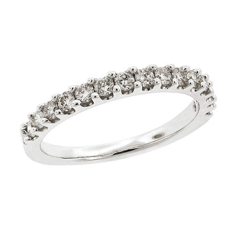 18ct White Gold Band