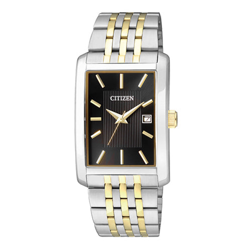 Citizen Rectangle 2-Tone Watch BH1678-56E