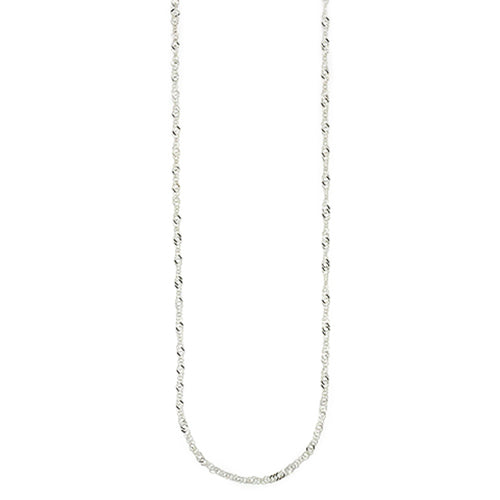 Sterling Silver Singapore Link Chain