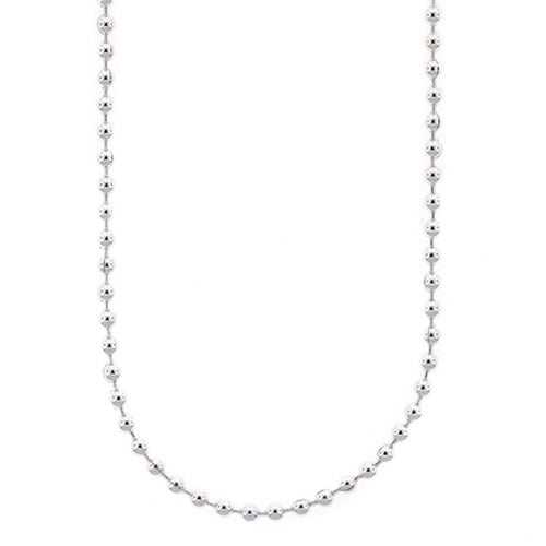 Sterling Silver Ball Link Chain