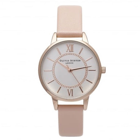 Olivia Burton Wonderland Dusty Pink Watch OB15WD28