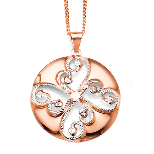 9ct Rose Gold Pendant