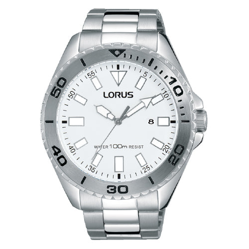 Lorus Stainless Steel Sports Watch RH931HX-9