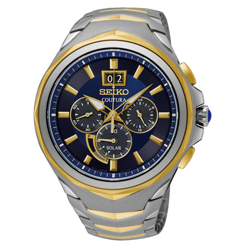 Seiko Coutura Solar Chronograph Watch SSC642P
