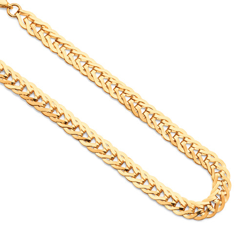9ct Yellow Gold Wheat Link Bracelet