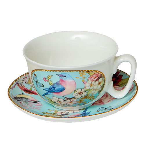 Tea Cup & Saucer Warren Blossom