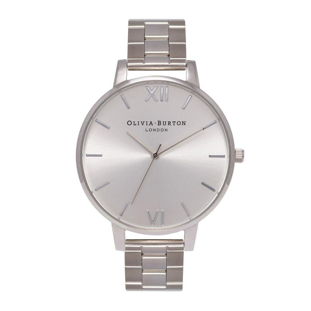 Olivia Burton Stainless Steel Watch OB15BL22