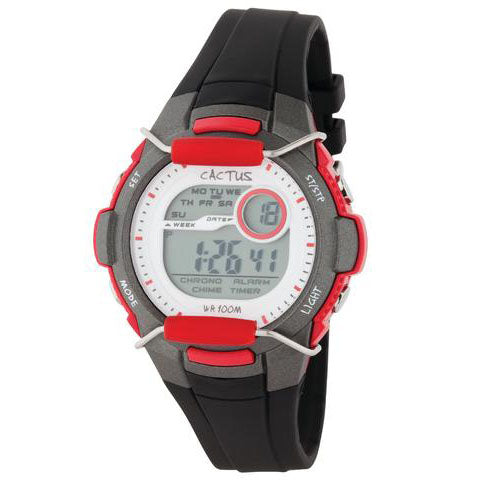Cactus Shield LCD Watch CAC94M02