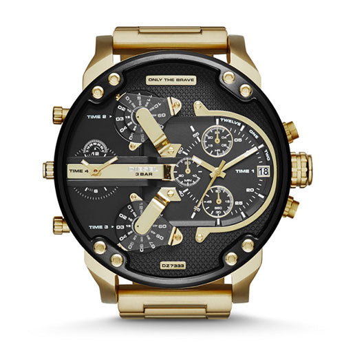 Diesel Mr Daddy 2 Gold Watch DZ7333