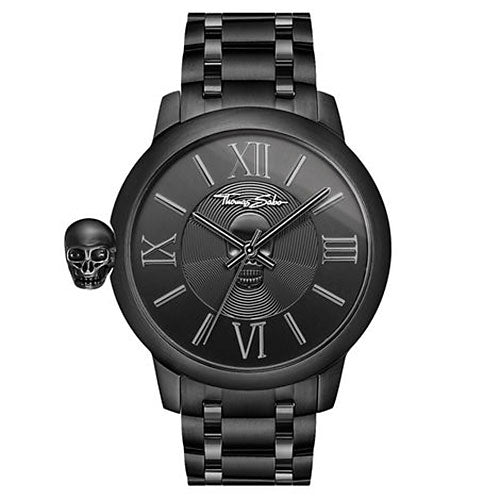 Thomas Sabo 'Karma Skull' Black Watch TWA0305