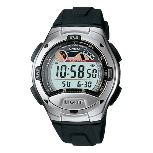 Casio Duel Time Watch W753-1
