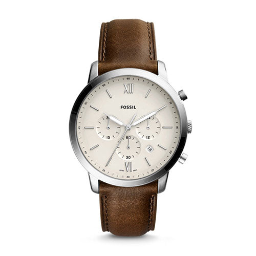 Fossil Neutra Chrono Brown Watch FS5380