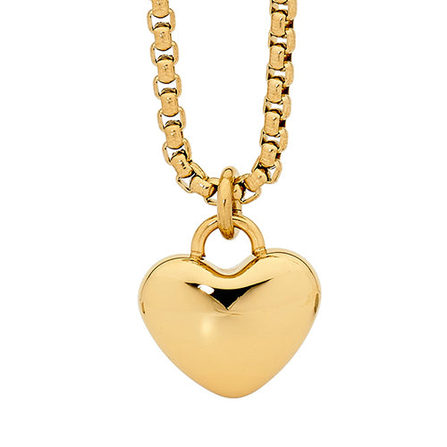 Ellani Gold Stainless Steel Necklet SP107G