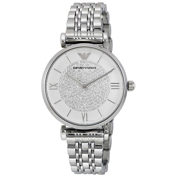 Emporio Armani Two Tone Analogue Watch AR1925