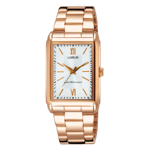 Lorus Rose-Tone Dress Watch RG272MX-9