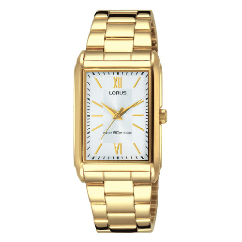 Lorus Gold-Tone Dress Watch RG274MX-9