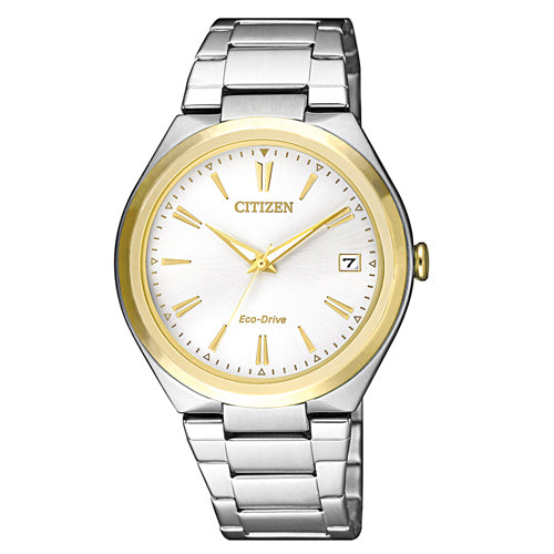Citizen Eco-Drive 2-Tone Watch FE6024-55B