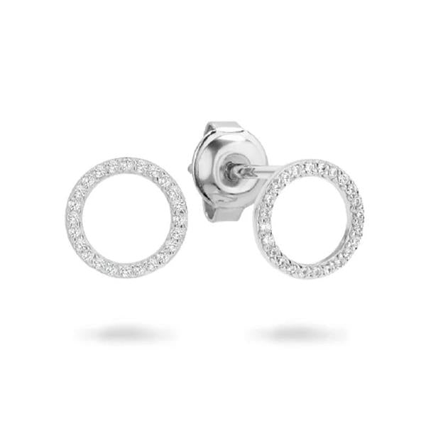 Georgini 'Ara' Sterling Silver 10mm Studs E742W
