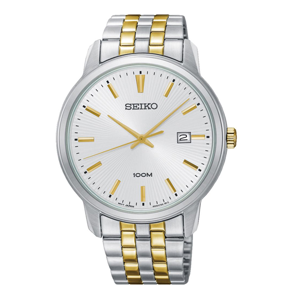 Seiko 2-Tone Watch SUR263P