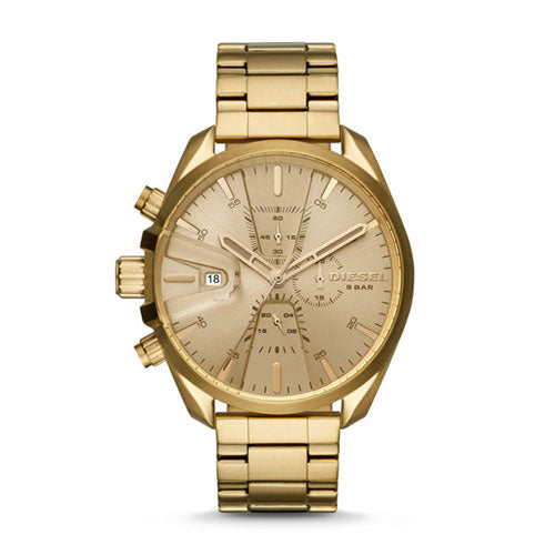 Diesel MS9 Chrono Gold Watch DZ4475