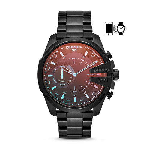 Full Guard Black Hybrid Smartwatch DZT1011